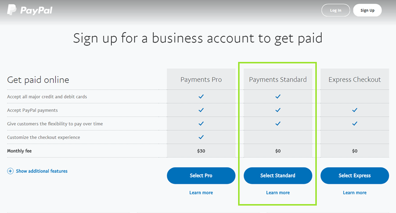 Getting Started with Paypal